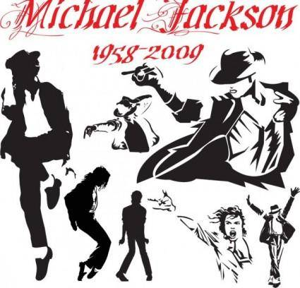 free vector Michael jackson classic motion vector