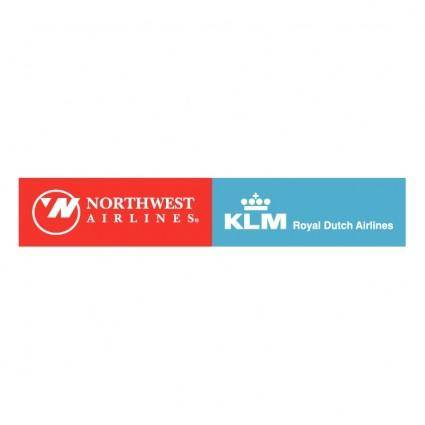 free vector Northwest airlines klm 1
