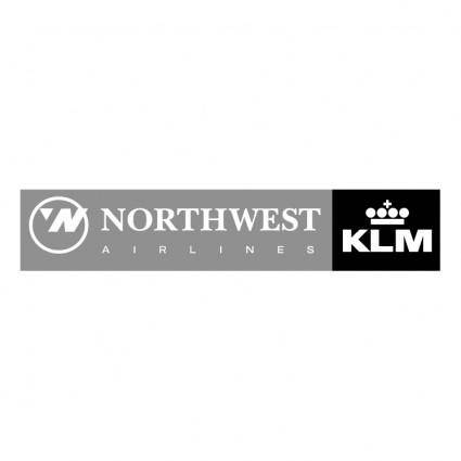Northwest airlines klm 0