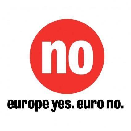 free vector No euro