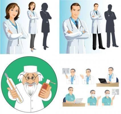 Doctors vector