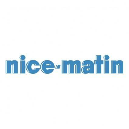 free vector Nice matin