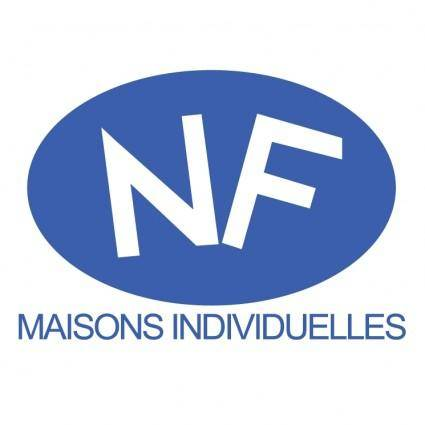 free vector Nf maisons individuelles