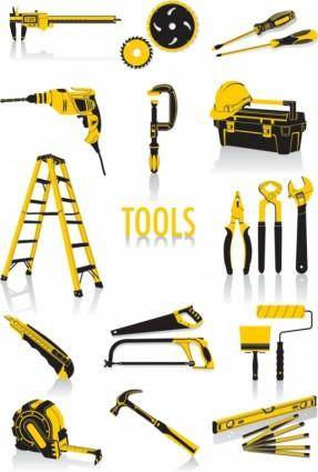 free vector Common tools vector