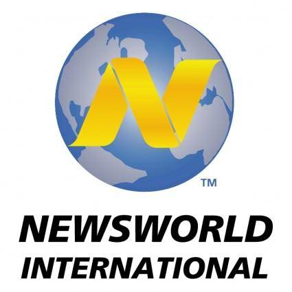 free vector Newsworld international