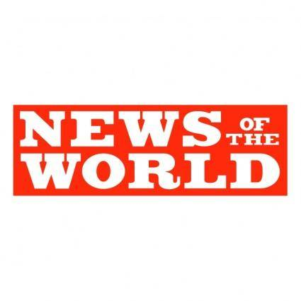 free vector News of the world