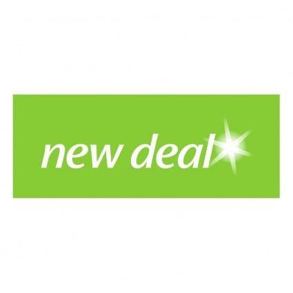 free vector New deal