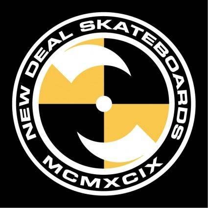 free vector New deal skateboards