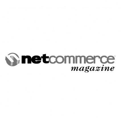 free vector Netcommerce magazine