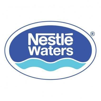 free vector Nestle waters