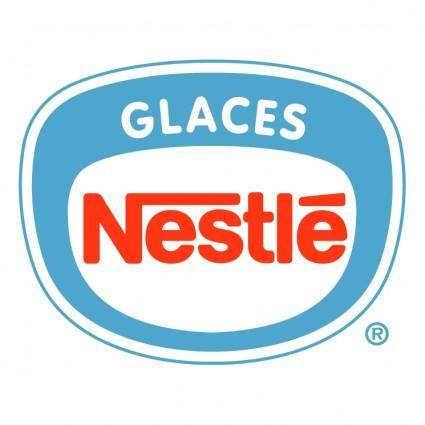 Nestle glaces
