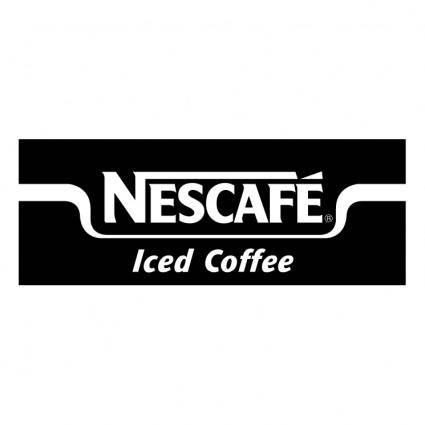 free vector Nescafe iced coffee