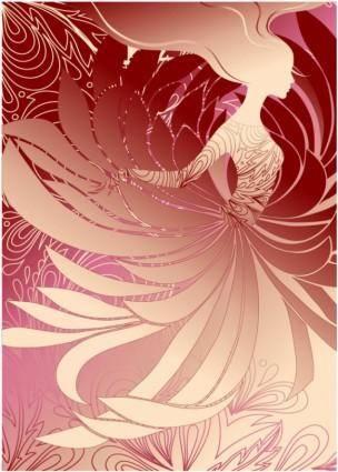 Fashion women illustration vector 4