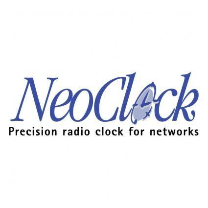 free vector Neoclock