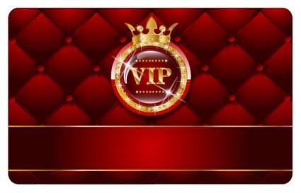 Vip card 03 vector
