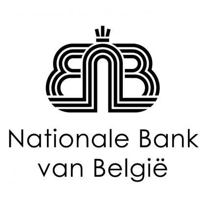 free vector Nationale bank van belgie