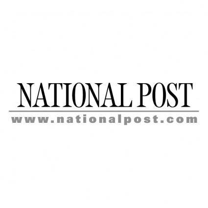 free vector National post 0