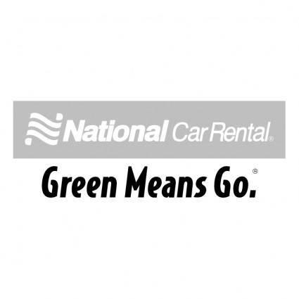 free vector National car rental 1