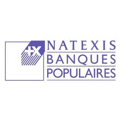 free vector Natexis banques populaires