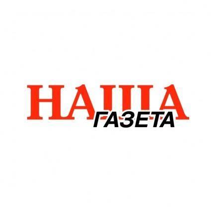 free vector Nasha gazeta 0