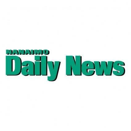 free vector Nanaimo daily news