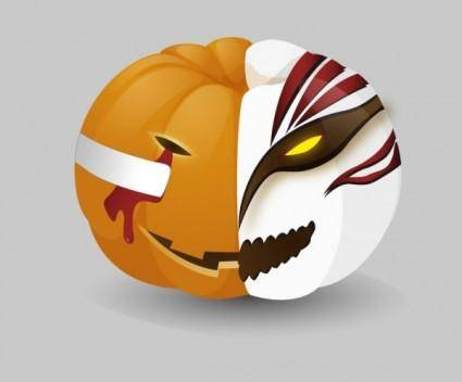 free vector Pumpkin death vector