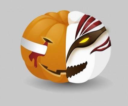 Pumpkin death vector