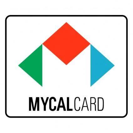 free vector Mycal card