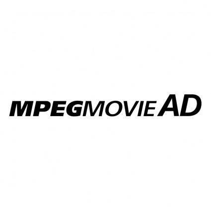 free vector Mpeg movie ad