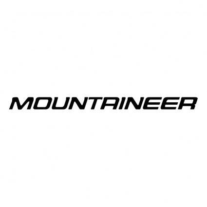 free vector Mountaineer