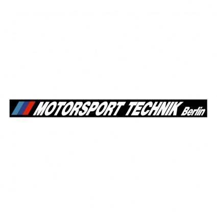 free vector Motorsport technik berlin