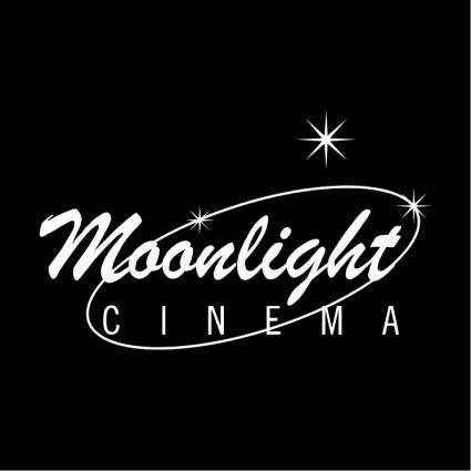 free vector Moonlight cinema