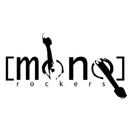 free vector Mono rockers