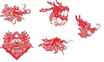 China leading papercut vector