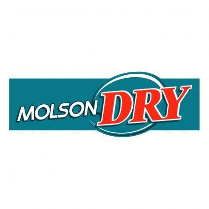 free vector Molson dry 3