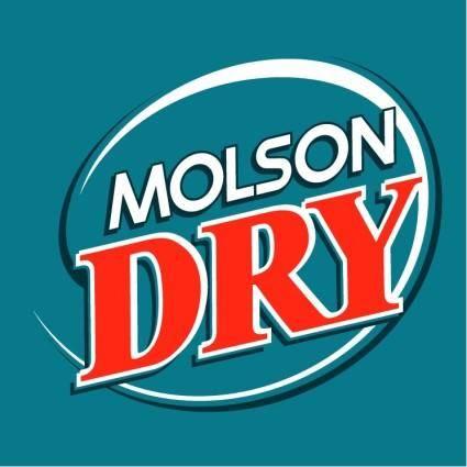 Molson dry 1
