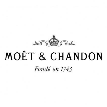 free vector Moet chandon