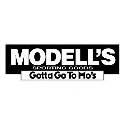 free vector Modells sporting goods