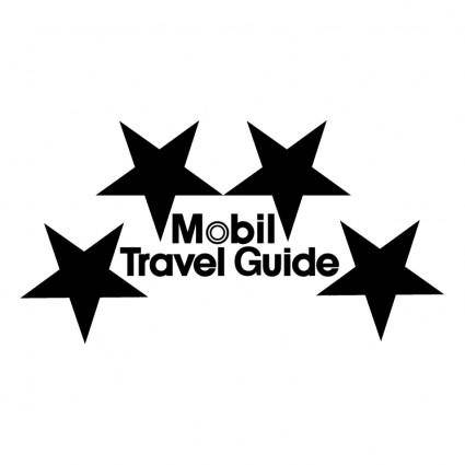 free vector Mobil travel guide