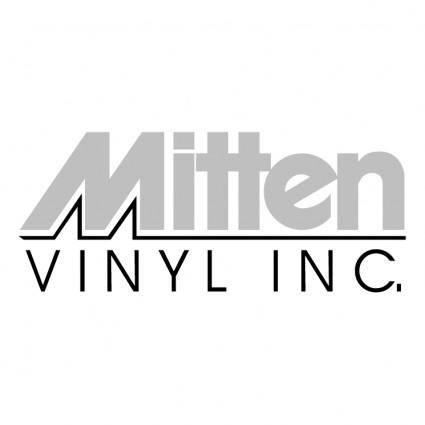 free vector Mitten vinyl