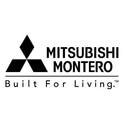 free vector Mitsubishi montero