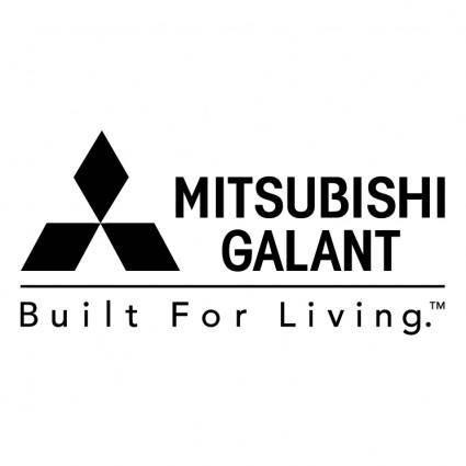 free vector Mitsubishi galant