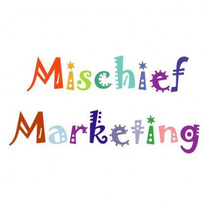free vector Mischief marketing