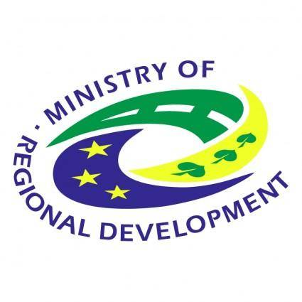 free vector Ministry of regional development