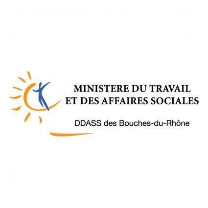 free vector Ministere du travail et des affaires sociales