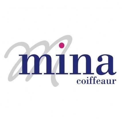 free vector Mina coiffeur