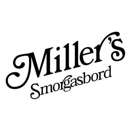 free vector Millers smorgasbord