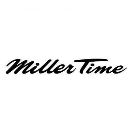 Miller time 0
