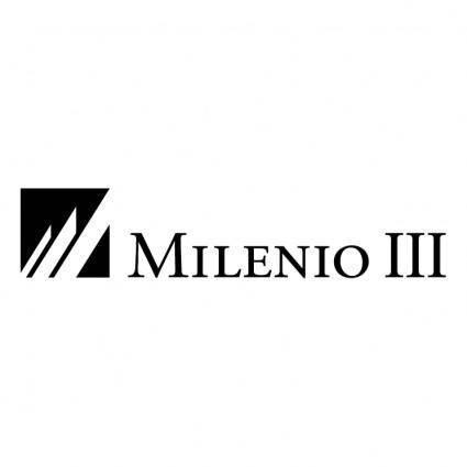 free vector Milenio iii