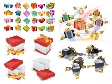 free vector Exquisite gift vector